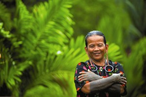 Sarawak Orang Ulu lady